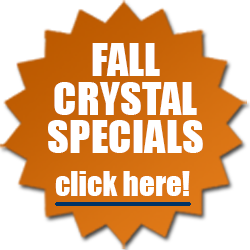 Fall Specials on Crystal Paperweights