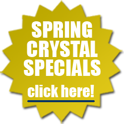 Spring Specials on Crystal Paperweights