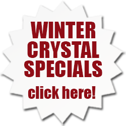 Winter Specials on Crystal Paperweights